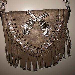 Handbags - Western fringe purse